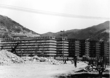 Kwun Tong Resettlement Estate in 1960